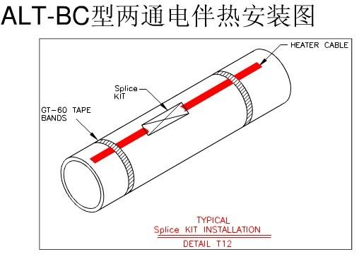 電伴熱帶 伴熱采樣復合管