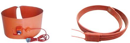 硅橡胶电热带实物图