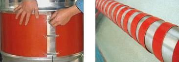 硅橡胶电热带安装图